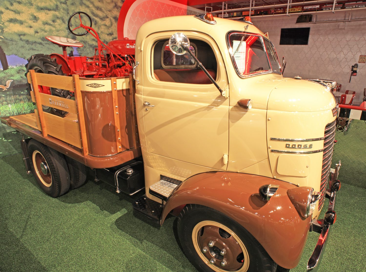 1946 Dodge Coe 2 Ton Truck Welcome To Cars Of Dreams Museum 1955 Buick Electra 225 Convertible