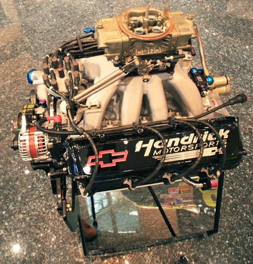 Past Collection Nascar Engine Chevrolet R07 Built By