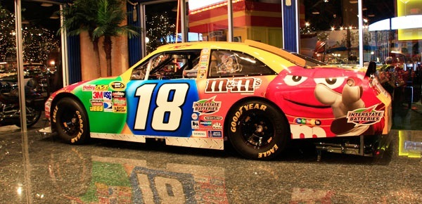 Nascar All Time Win List >> Past Collection - NASCAR Racecar - Kyle Busch 2010 #18 M&M's Toyota Camry - Welcome to Cars of ...