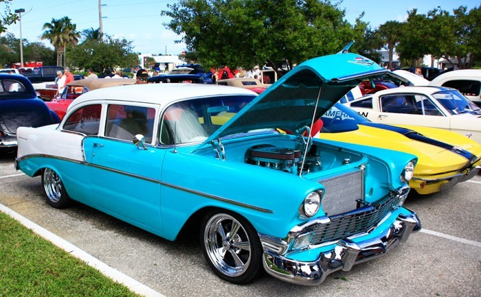 Past Collection - Chevy Bel Air with Toyota TRD Engine - Welcome to