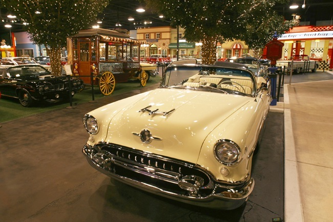 Past Collection - 1955 Oldsmobile Super 88 Convertible