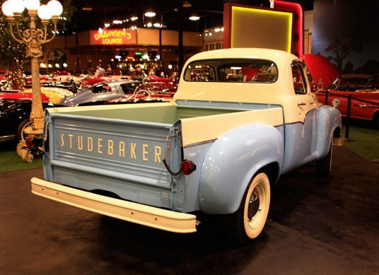 Cabs In South Bend >> Past Collection – 1958 Studebaker Transtar Pick-Up Truck – Welcome to Cars of Dreams Museum