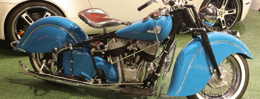 1956 Indian Chief Motorcycle